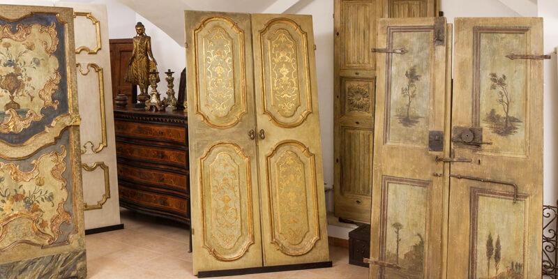 Porte per interni antiche for Stili arredamento interni
